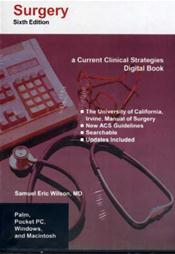 Surgery 2005 on CD-ROM for Palm OS, Pocket PC, Windows and Macintosh