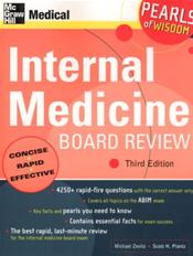Internal Medicine Board Review: Pearls of Wisdom