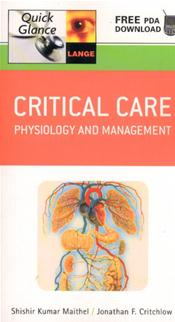 Critical Care: Physiology and Management: Text with Access Code for Free PDA Download