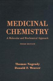 Medicinal Chemistry: A Molecular and Biochemical Approach Image