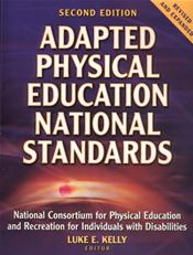 Adapted Physical Education National Standards Cover Image