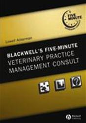 Five-Minute Veterinary Practice Management Consult Cover Image