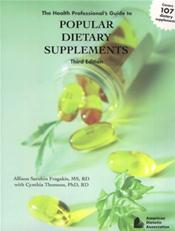 Health Professional's Guide to Popular Dietary Supplements