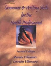 Grammar and Writing Skills for the Health Professional Cover Image