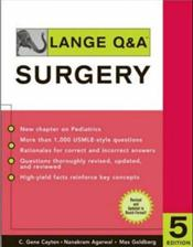 Lange Q&amp;A: Surgery