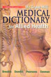 McGraw-Hill Medical Dictionary for Allied Health Image