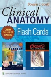 Clinical Anatomy Flash Cards (Blue Box)