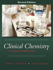 Clinical Chemistry: Concepts and Applications