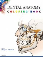 Dental Anatomy Coloring Book Cover Image
