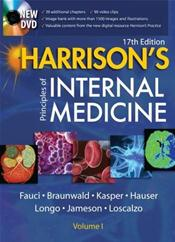 Harrison's Principles of Internal Medicine. 2 Volume Set. Text with DVD