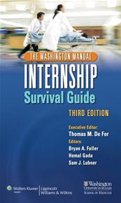 Washington Manual Internship Survival Guide. Includes Internship Procedure Card Image