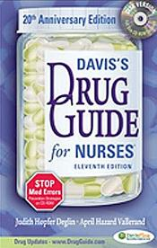 Davis' Drug Guide for Nurses. Text with CD-ROM for Windows