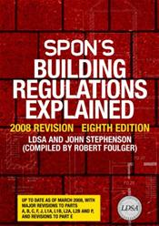 Spon's Building Regulations Explained