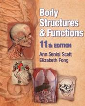Body Structures and Functions. Text with CD-ROM for Windows Cover Image