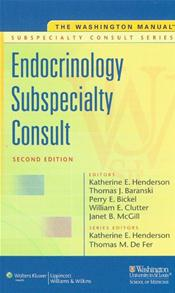 Washington Manual Endocrinology Subspecialty Consult Image