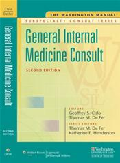 Washington Manual: General Internal Medicine Subspecialty Consult Image