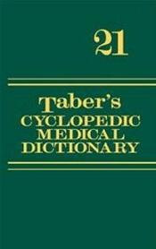 Taber's Cyclopedic Medical Dictionary. Non-Thumb Indexed. Text with DVD