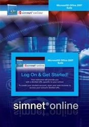 SimNet for Microsoft Office 2007 Suite Registration Card. Internet Access Code