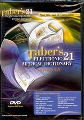 Taber's Electronic 21 Medical Dictionary on DVD-ROM for Windows and Macintosh. Version 4.0