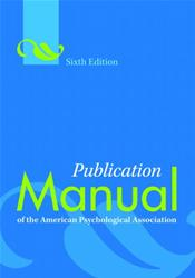 Publication Manual of the American Psychological Association (2nd Printing)