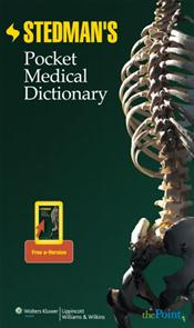 Stedman's Pocket Medical Dictionary. Text with Internet Access Code for thePoint