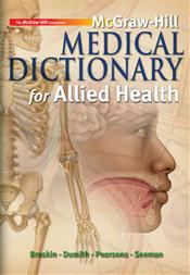 Allied Health Medical Dictionary. Text with Student CD-ROM Image