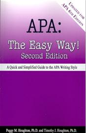 APA: The Easy Way. Updated for the 6th Edition.