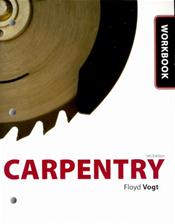 Workbook to Accompany Carpentry