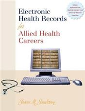 Electronic Health Records for Allied Health Careers w/Student CD-ROM Image