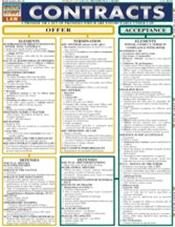 Contracts Laminated Reference Chart