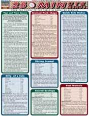 25 Minute Menus Laminated Reference Chart