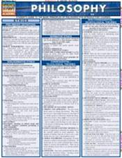 Philosophy Laminated Reference Chart