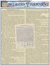 Declaration Of Independence Laminated Reference Chart
