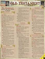 Old Testament Laminated Reference Chart