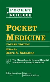 Pocket Medicine: Massachusetts General Hospital Handbook of Internal Medicine. Includes Binder