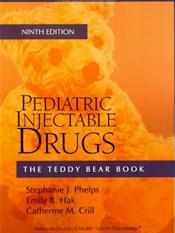 Teddy Bear Book: Pediatric Injectable Drugs Cover Image