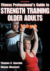 Fitness Professionals Guide to Strength Training Older Adults Cover Image