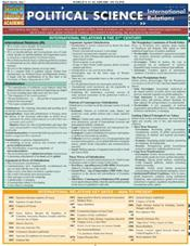 Political Science-Internationa Relations Laminated Reference Chart