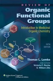 Review of Organic Functional Groups: Introduction to Medicinal Organic Chemistry. Text with CD-ROM for Macintosh and Windows and Internet Access Code for thePoint