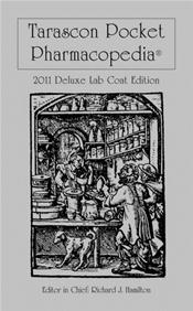 Tarascon Pocket Pharmacopoeia. Deluxe Lab-Coat Pocket Edition 2011