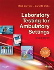Laboratory Testing for Ambulatory Settings. Includes Textbook and Workbook Cover Image