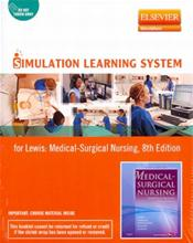 Simulation Learning System for Lewis: Medical-Surgical Nursing. Internet Access Code for Elsevier Simulation Course Image