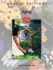 Annual Editions: Aging 2011/2012 Cover Image