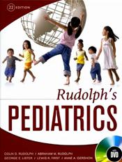 Rudolph's Pediatrics. Text with DVD