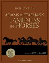 Adams and Stashak's Lameness in Horses. Text with DVD