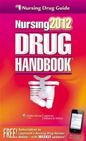 Nursing Drug Handbook 2012. Text with Internet Access Code for NDH Web Toolkit