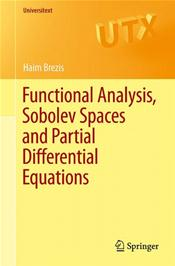 Functional Analysis, Sobolev Space and Partial Differential Equations