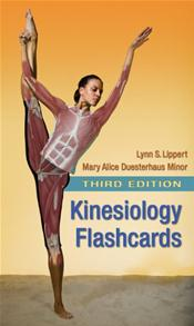 Kinesiology Flashcards to Accompany Kinesiology Lab Manual for Physical Therapist Assistants