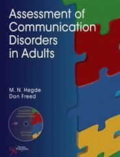 Assessment of Communication Disorders in Adults. Text with CD-ROM for Windows and Macintosh Cover Image
