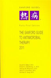 Sanford Guide to Antimicrobial Therapy. Large Print Library Edition